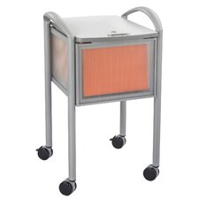 "25"" Locking File Cart"
