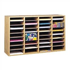 Wood/Laminate Literature Sorter