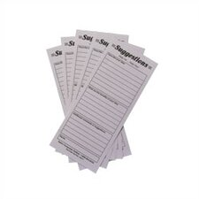<strong>Safco Products Company</strong> Suggestion Box Cards (Set of 25)
