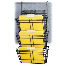 Panelmate Triple File Basket Organizer (Set of 6)