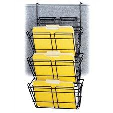 Panelmate Triple-File Basket Organizer