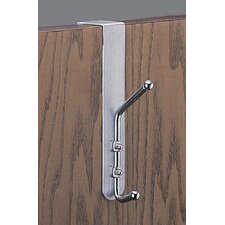 Over-the-Door Double Coat Hook