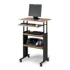 "<strong>Safco Products Company</strong> MUV 30"" W Height-Adjustable Stand-Up Workstation"