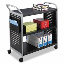 <strong>Safco Products Company</strong> Scoot 3 Shelf Utility Cart