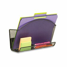 <strong>Safco Products Company</strong> Onyx Magnetic Mesh File Pocket