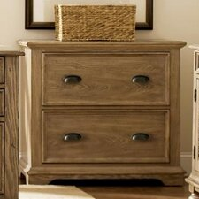 Coventry Lateral File Cabinet in Weathered Driftwood