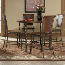 <strong>Riverside Furniture</strong> Medley 5 Piece Counter Height Dining Set
