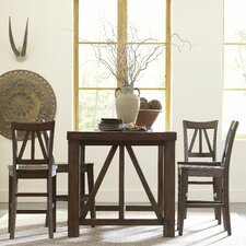 Castlewood Counter Height Pub Table Set