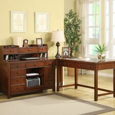 <strong>Riverside Furniture</strong> Avenue L-Shape Desk Office Suite