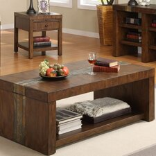 <strong>Riverside Furniture</strong> Belize Coffee Table Set