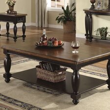 <strong>Riverside Furniture</strong> Delcastle Coffee Table Set