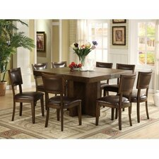 <strong>Riverside Furniture</strong> Belize 9 Piece Dining Set