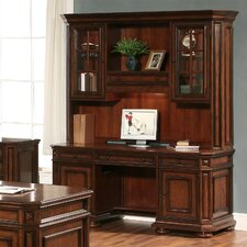 <strong>Riverside Furniture</strong> Cantata Computer Credenza with Hutch