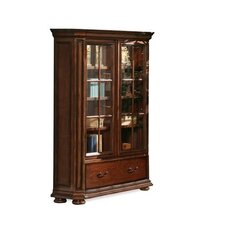 Cantata Wide Bookcase in Burnished Cherry