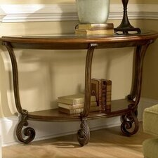 <strong>Riverside Furniture</strong> Fortunado Demi-Lune Console Table