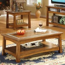 <strong>Riverside Furniture</strong> Craftsman Home Coffee Table