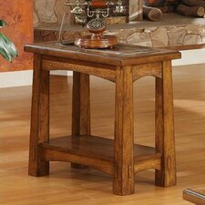 <strong>Riverside Furniture</strong> Craftsman Home End Table