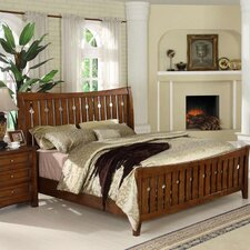 <strong>Riverside Furniture</strong> Craftsman Home Slat Bed