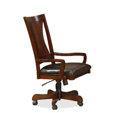 <strong>Riverside Furniture</strong> Avenue High Back Desk Chair with Arms