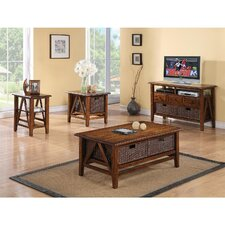 <strong>Riverside Furniture</strong> Claremont Coffee Table Set