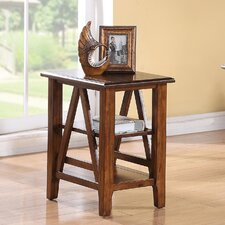 <strong>Riverside Furniture</strong> Claremont Chairside Table