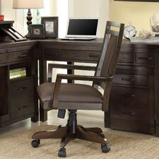 <strong>Riverside Furniture</strong> Promenade Mid-Back Desk Chair with Arms