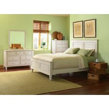 <strong>Riverside Furniture</strong> Placid Cove Louver Panel Bedroom Collection