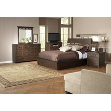 <strong>Riverside Furniture</strong> Promenade Slat Panel Bedroom Collection