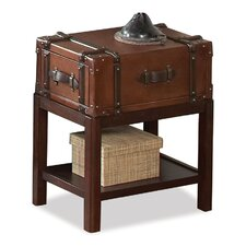<strong>Riverside Furniture</strong> Latitudes Suitcase Chairside Table