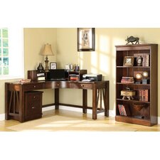 <strong>Riverside Furniture</strong> Castlewood Corner Desk Office Suites