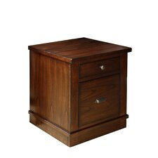 Castlewood 2-Drawer Mobile File Cabinet