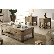 <strong>Riverside Furniture</strong> Bay Cliff Coffee Table Set