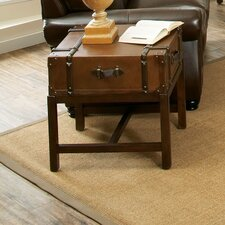 Latitudes Suitcase End Table