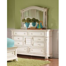 Placid Cove 8 Drawer Door Dresser