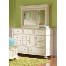 Placid Cove 9 Drawer Media Dresser