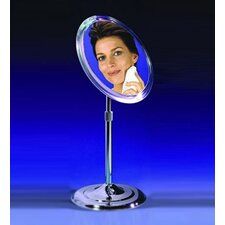 Makeup Mirror with Pedestal