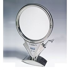 Z'Fogless Power Zoom Lighted Mirror in Stainless Steel