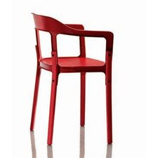 Steelwood Dining Arm Chair