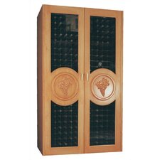 700 Concord Oak Refrigerated Wine Cabinet