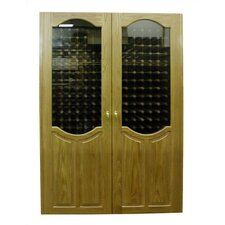 700 London Oak Wine Cooler Cabinet