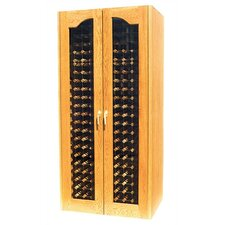 <strong>Vinotemp</strong> 440 Two Door Provincial Oak Wine Cooler Cabinet