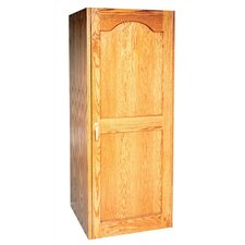 250 Oak Wine Cooler Cabinet with Furniture Trim