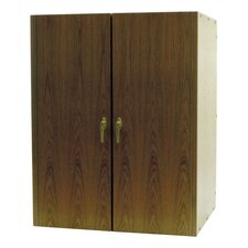2 Door Oak Wine Cooler Cabinet