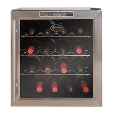 <strong>Vinotemp</strong> VT-16 Thermoelectric Wine Cooler with Stainless Door