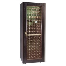 200 Dual Paned Glass Door Wine Cooler Cabinet