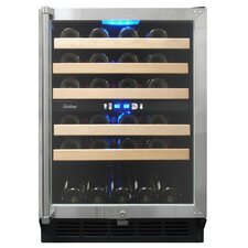 45 Bottle Dual-Zone Wine Cooler
