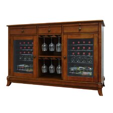 <strong>Vinotemp</strong> Cava 36-Bottle Dual-Zone Thermoelectric Wine Credenza