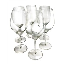 Red Wine Glass (Set of 6)