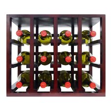 <strong>Vinotemp</strong> Epicureanist 12 Bottle Stackable Tabletop Wine Rack