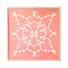 Paule Marrot Pink Maze Artwork